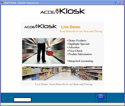 Kiosk ScreenShot 1