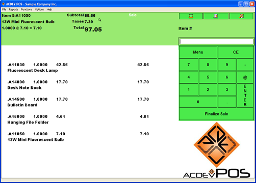POS ScreenShot 1